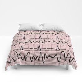 Cardiac Rhythm Strips EKG Comforters
