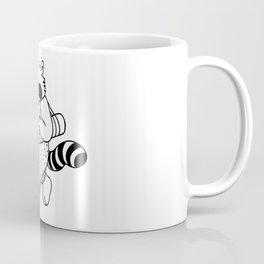Animal Urbanites: Yoga Raccoon Coffee Mug
