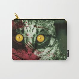 Zombie Kitty Carry-All Pouch