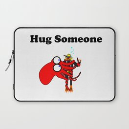 Hug Someone Laptop Sleeve