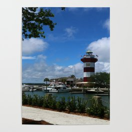 Harbour Town Light Poster
