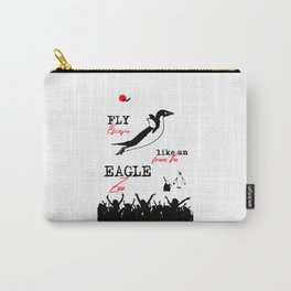 Fly Like An Eagle, Escape From The Zoo Carry-All Pouch