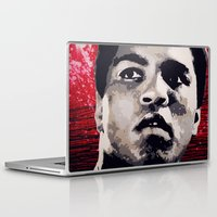 ali gulec Laptop & iPad Skins featuring Ali by CjosephART
