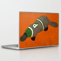platypus Laptop & iPad Skins featuring Platypus by subpatch