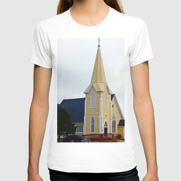 Small Yellow Church T-shirt