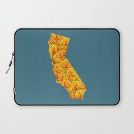 California in Flowers Laptop Sleeve