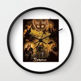 JUDAS 50 HEAVY METAL YEARS Wall Clock