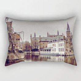 Brugges, Belgium Rectangular Pillow