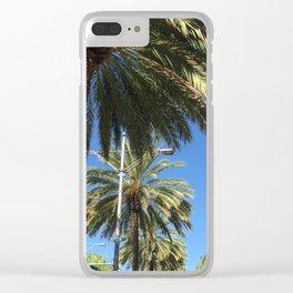 Cali Palm's Clear iPhone Case