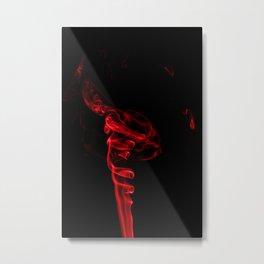 Red Four Metal Print