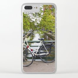 Dutch Bicycles Clear iPhone Case