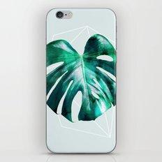 Monstera 2 Geometry iPhone & iPod Skin