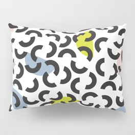 Half moons Pillow Sham
