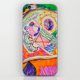 Pop Up Art iPhone Skin