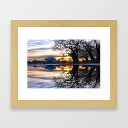 More than Gold Framed Art Print