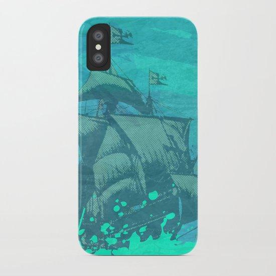 Sea Route iPhone Case