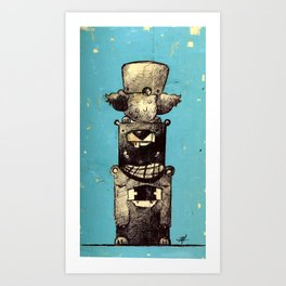 The Trinity Revisited Art Print