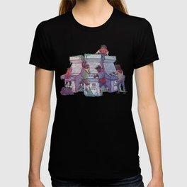 Hardcore Lady-Types: Ode to Lumberjanes T-shirt