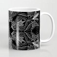 Black Mandala 2 Mug