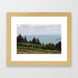 Mount Greylock IV Framed Art Print