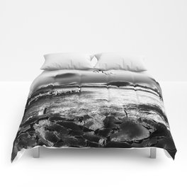 Escape By Moonlight Comforters