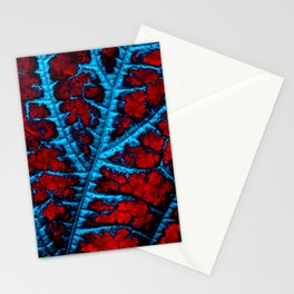 leaf structure abstract VIII Stationery Cards