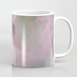 Embraced By Pink Angel Wings Abstract Art Coffee Mug