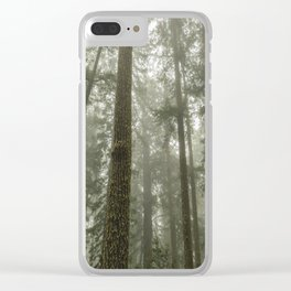 Memories of the Future - nature photography Clear iPhone Case