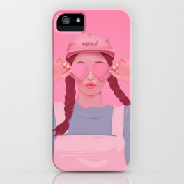PASTEL LOVE iPhone Case