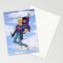 Flying Around Jason and Nico Stationery Cards