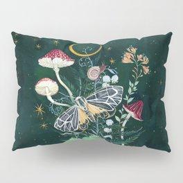 Mushroom night moth Pillow Sham