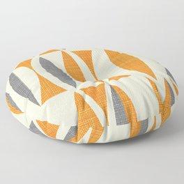 Seventies  orange Floor Pillow
