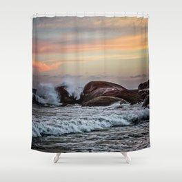 Sri Lankan Sunset Shower Curtain