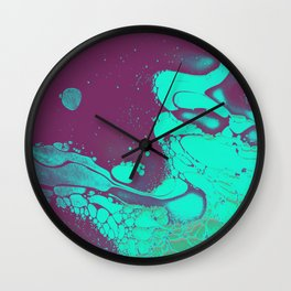 POLLUTED Wall Clock