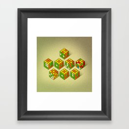 I lov? you Framed Art Print
