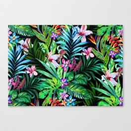 In The Jungle Canvas Print