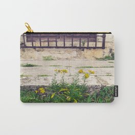 The Flower Lane Carry-All Pouch