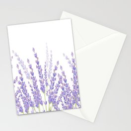 Lavender in the Field Stationery Cards