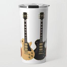 Four Electric Guitars Travel Mug