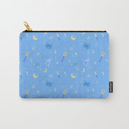 Sailor Mercury Pattern Carry-All Pouch