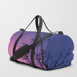 Into the Pink & Purple Sky  - JUSTART © Duffle Bag