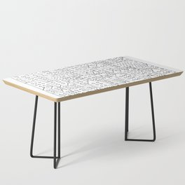 Coit City Pattern 1 Coffee Table