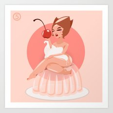 Jello Jane Art Print