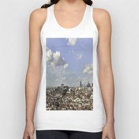 madrid Tank Tops featuring Madrid City by Cris