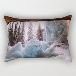 Hanging Lake Spouting Rock at Glenwood Canyon Glenwood Spring Area Colorado. Rectangular Pillow