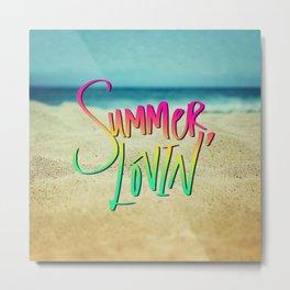 Summer Lovin' x Hawaii Metal Print