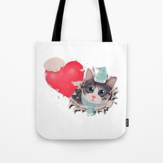 Steal Heart Tote Bag