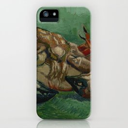 Crab on its Back iPhone Case