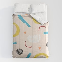 Abstract Shapes Comforters