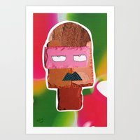 matisse Art Prints featuring Mr. Matisse by Mauricio Cosío